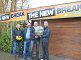 The New Break nieuwe reclamebordsponsor