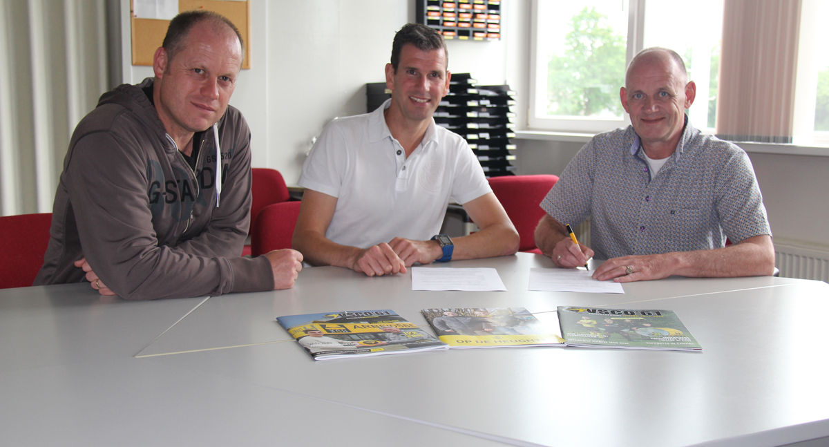 Assistent-trainer Stephan Nuesink tekent contract